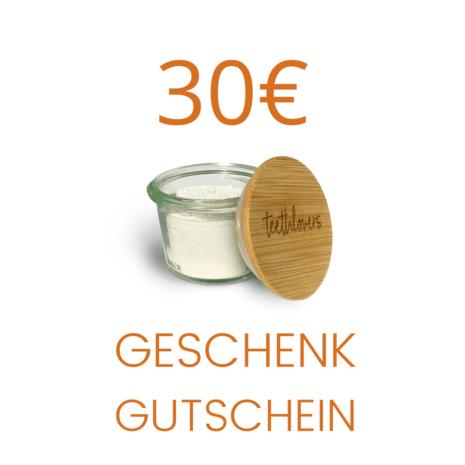30€ teethlovers Geschenkgutschein