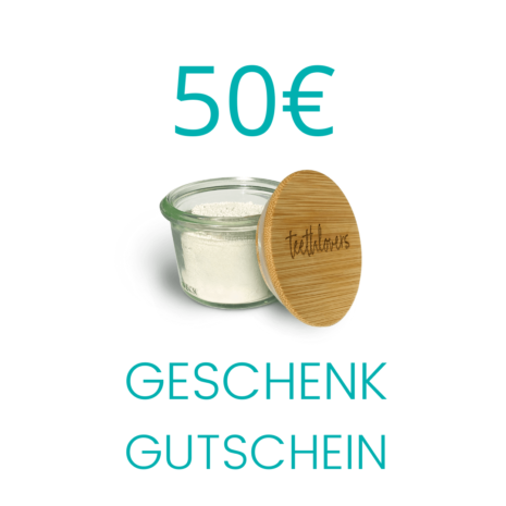 50€ teethlovers Geschenkgutschein