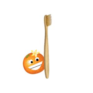 teethlovers Bambus-Zahnbürste für Kinder